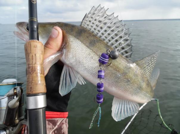 Приманка мандула для ловли хищной и мирной рыбы